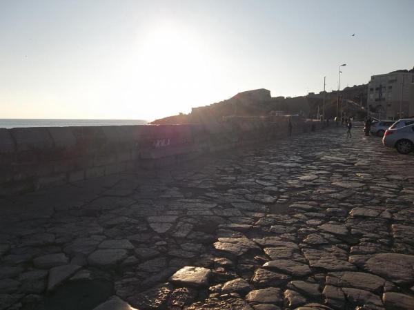 Le môle Saint Louis du port de Sète (L'espoir des vaincus)