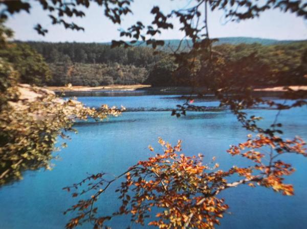 Le lac du Lampy (Aude)