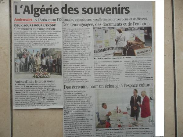 Article de presse Nîmes 2012