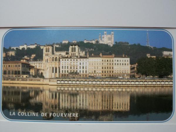 """La """"Colline qui prie"""" et la basilique de Fourvière à Lyon"""