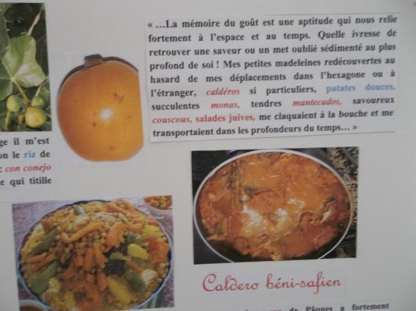 """Nourriture en Algérie évoquée dans"""" Demain tu pars en France"""""""