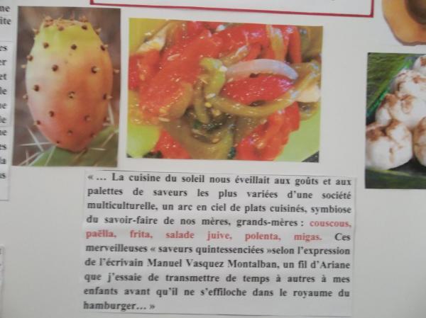 """La nourriture en Algérie, évoquée dans """"Demain tu pars en France"""""""