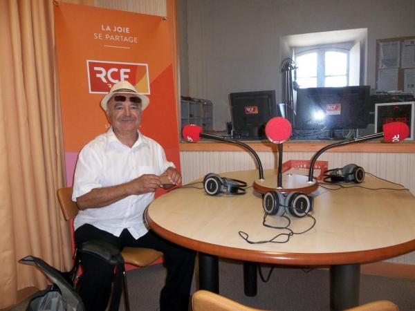 """Avant l'interview lors de l'émission """"Rue des Arts"""" (RCF)"""