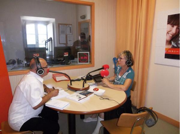 """INTERVIEW  a l'émission """"RUE DES ARTS"""" pour la radio """"RCF PAYS D'AUDE"""