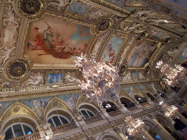 Hôtel de ville de Paris. Plafond salle des dédicaces.