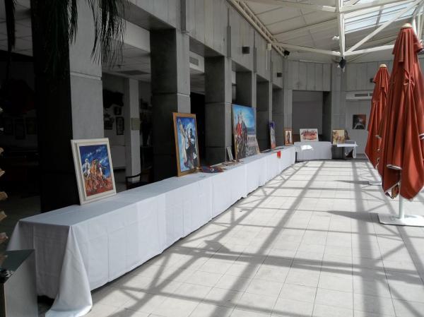Nîmes 2012 : exposition de peintures orientalistes de Josette Spaggia