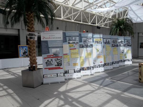 Exposition du cinquantenaire. Nîmes 2012