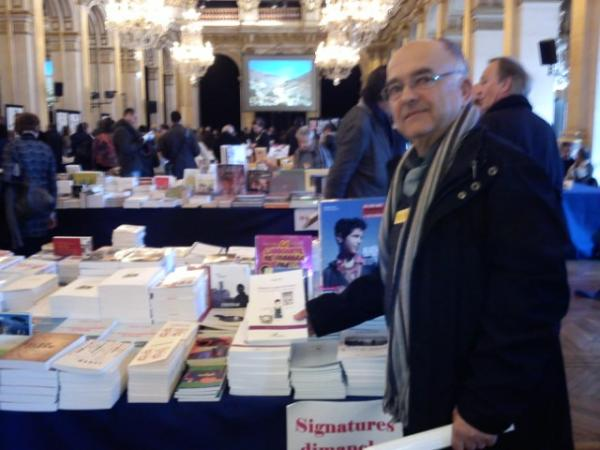 """Maghreb des livres  PARIS 2012. Association """"Coup de soleil""""."""