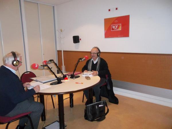 """Interview (enregistrement) à RCF Montpellier par C. Gavache. Emission """"Etre et témoigner"""""""