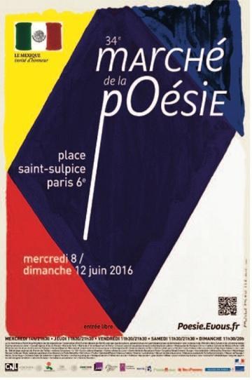 marché de la  poésie à PARIS