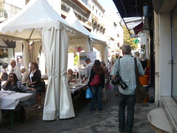 """""""Automn'Halles"""" de Sète. Festival des livres"""