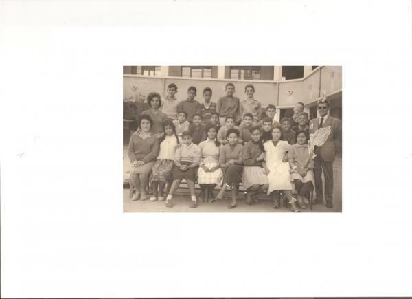 Classe de 5°   1960-61  Béni-Saf