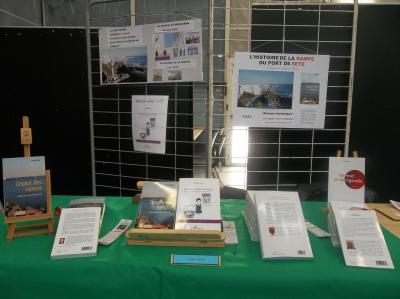 Mon stand et mes ouvrages